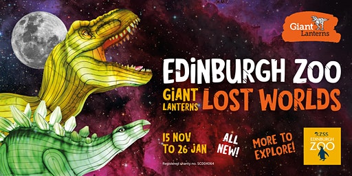 Giant Lanterns - Lost Worlds -1st Jan