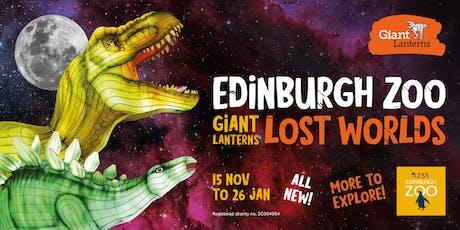 Giant Lanterns - Lost Worlds -2nd Jan  tickets