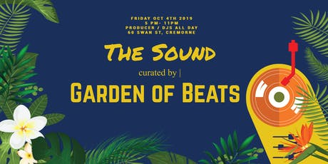 Garden of Beats - The Sound Two tickets