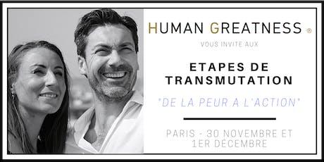 Séminaire - De la PEUR à l'ACTION - PARIS tickets