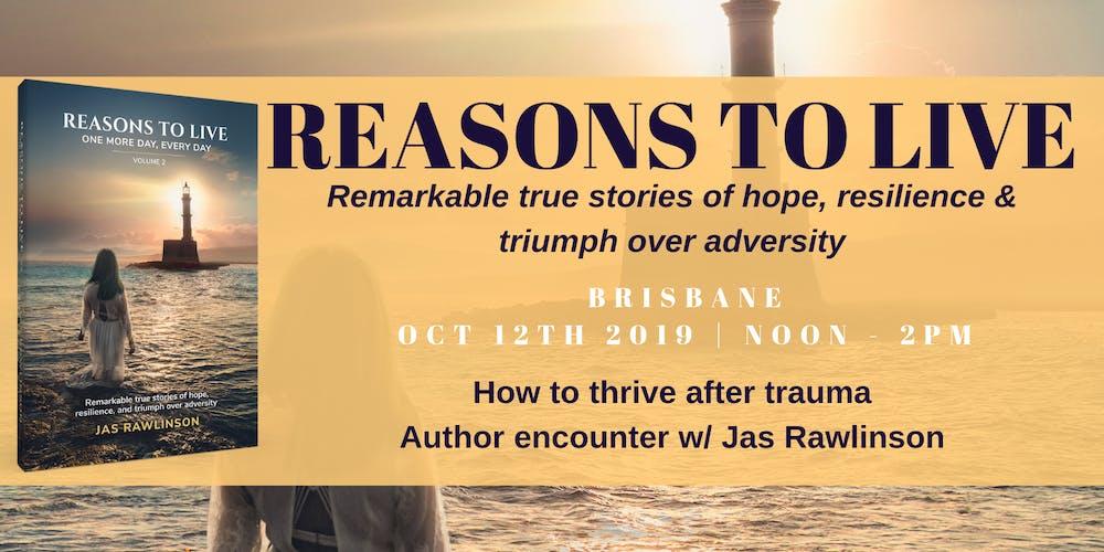 Thriving after trauma w/ Brisbane author Jas Rawlinson