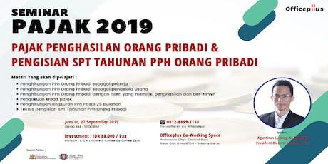 (Paid Seminar) Seminar Pajak 2019 tickets