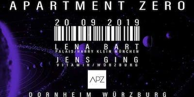 Apartment Zero w. Jens Ging & Lena Bart