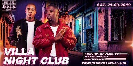 Villa Night Club: Devarsity 21-9