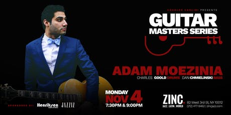 Guitar Masters Series: Adam Moezinia tickets