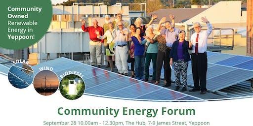 Community Owned Renewable Energy in Yeppoon!