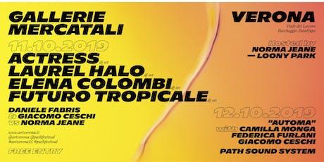 PATH FESTIVAL X ARTVERONA15 - venerdì 11 biglietti
