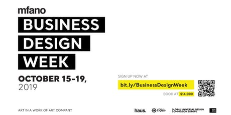 Business Design Week tickets