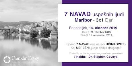 7 Navad - Maribor - Oktober tickets