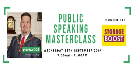 Public Speaking Masterclass tickets