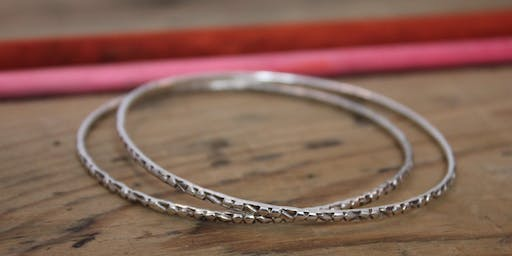 Make Your Own Silver Bangles