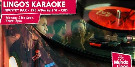 Mundo Lingo Multilingual Karaoke tickets