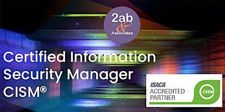 CISM - Atelier de préparation accrédité par ISACA billets