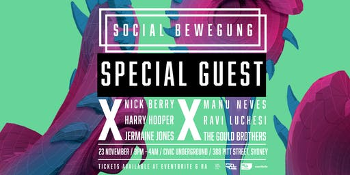 Social Bewegung Ft Bebetta at Civic Underground
