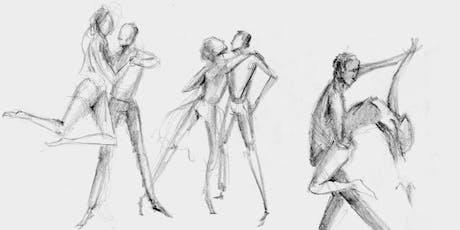 Visual Art × Dance Workshop: Let Your Pencil Dance 舞動畫筆:欣賞舞蹈學動態速寫 tickets