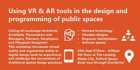 Using Virtual Reality and Augmented Reality tools in the design and programming of public spaces tickets