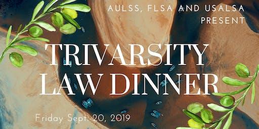 Trivarsity Law Dinner 2019