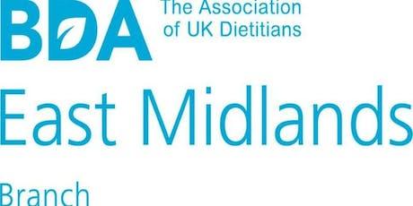 BDA East Midlands Branch CPD event - Focus on Public Health tickets