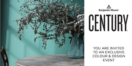 Benjamin Moore - EXPERIENCE CENTURY (Product Launch) - Experienced Designers ONLY