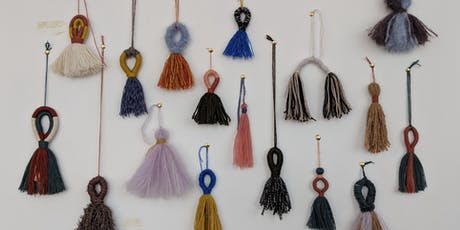 Tasseling workshop - learn to make tassels with Craft Show's Chloe Phelps tickets