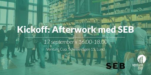After work med Venture Cup Syd och SEB!