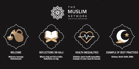 Muslim Network Health Collaboration Hajj, Eid and Health Inequalities Event tickets