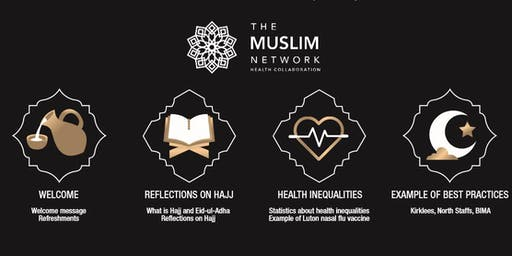 Muslim Network Health Collaboration Hajj, Eid and Health Inequalities Event