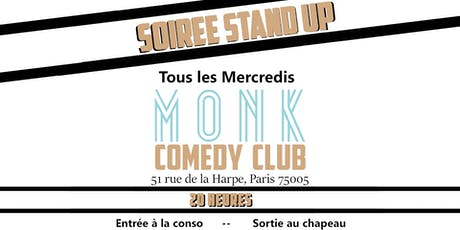 Monk Comedy Club tickets