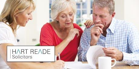 Retirement and Estate Planning Seminar - 8 October 2019 tickets