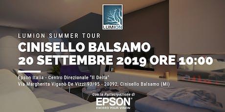 Presentazione Lumion Cinisello Balsamo biglietti