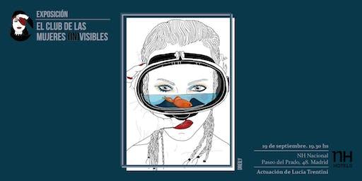 Exposición de El Club de las Mujeres (In) Visibles