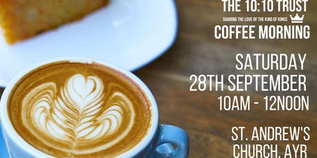 Coffee Morning - The 10:10 Trust tickets