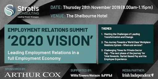Stratis Employment Relations Summit- '2020 Vision'