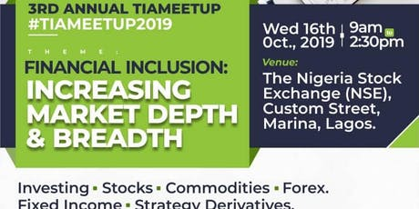 Traders, Investors & Analysts (TIA) MEETUP 2019 tickets