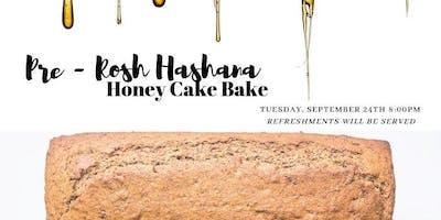 Pre-Rosh Hashana Cake Bake