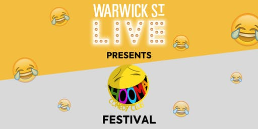 Warwick St Live presents The Hooma Comedy Festival
