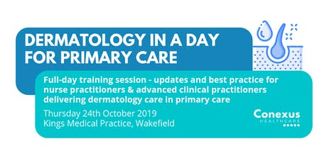 Dermatology in a day for Primary Care tickets