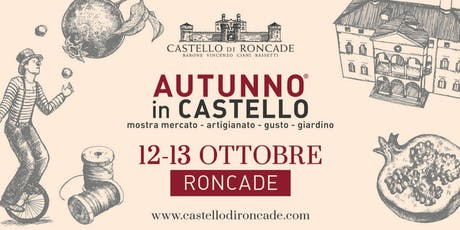 Autunno in Castello 2019 biglietti