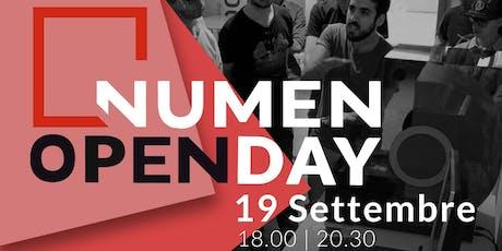 NUMEN Open Day - 19 Settembre biglietti