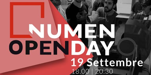 NUMEN Open Day - 19 Settembre