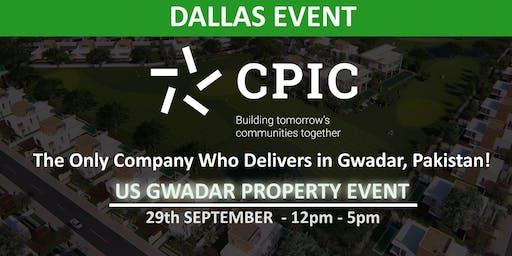 CPIC DALLAS: GWADAR PROPERTY EVENT - 29th September 2019
