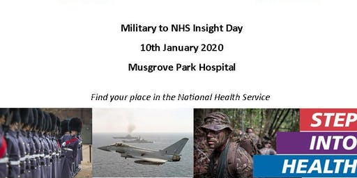 Military to NHS Insight Day