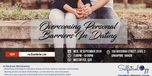 STUDENTS-ONLY MEETUP: Overcoming Personal Barriers In Dating