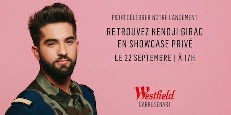 Westfield Carré Sénart showcase privé billets