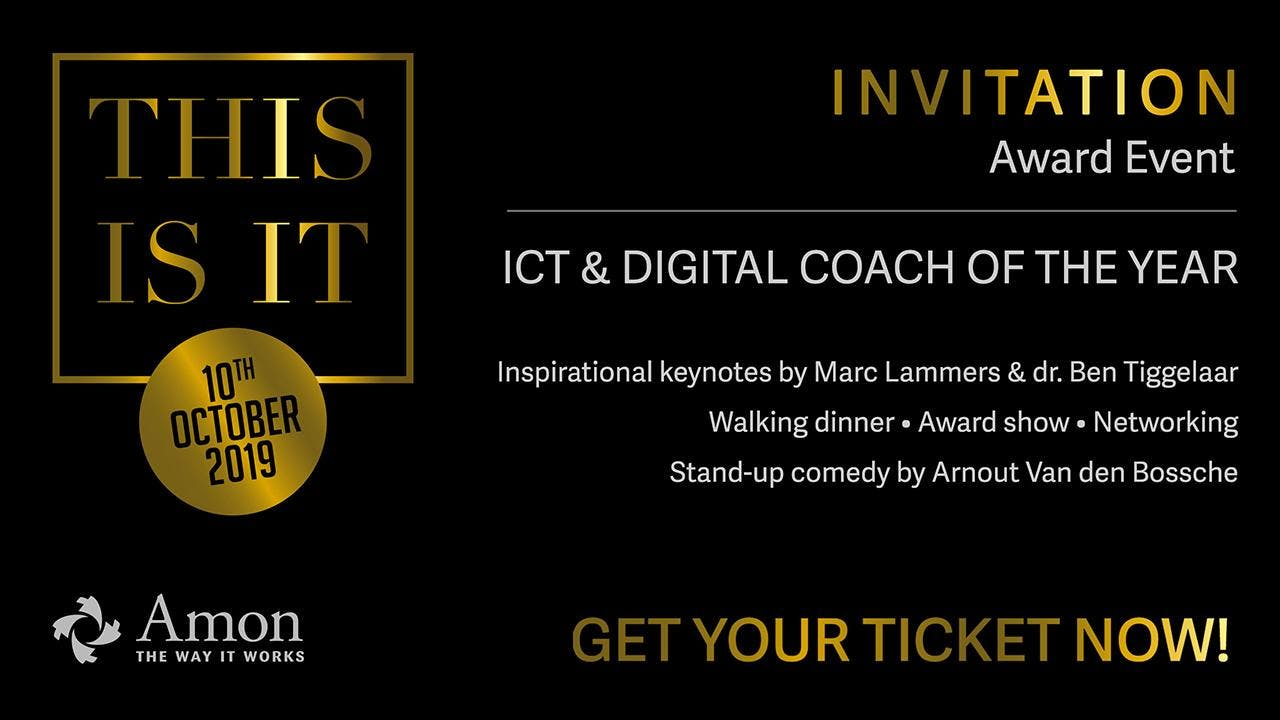 This Is IT 2019 - Award ICT & Digital Coach of The Year