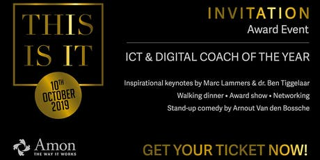 This Is IT 2019 - Award ICT & Digital Coach of The Year tickets