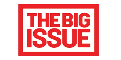 The Big Issue | CC - Curzon 038 | 13:00 - 14:00 | Monday 4th November