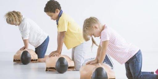 Mini Medics First Aid Workshop 7-12 year olds