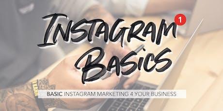 Instagram Basics Vol.1 - Instagram Marketing 4 your Business tickets