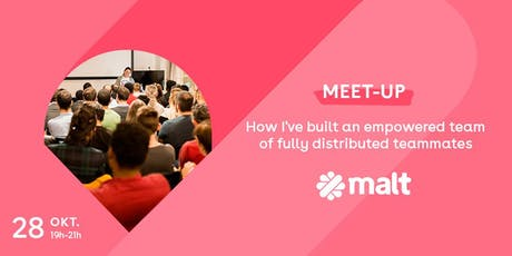 How I've built an empowered team of fully distributed teammates Tickets